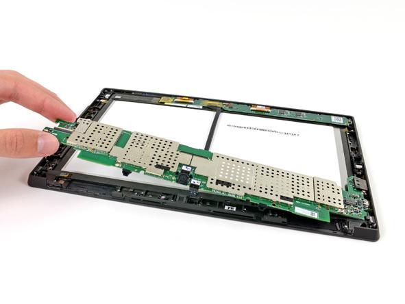Как разобрать планшет Microsoft Surface (28)