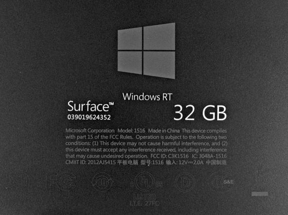 Как разобрать планшет Microsoft Surface (10)