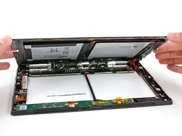 Как разобрать планшет Microsoft Surface (14)
