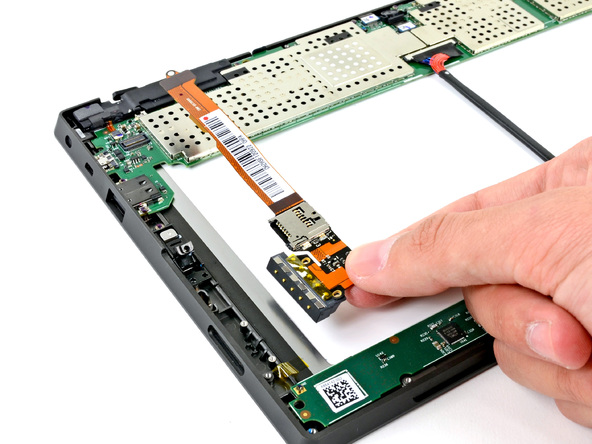 Как разобрать планшет Microsoft Surface (19)