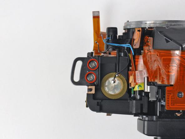 Как разобрать фотоаппарат Nikon D70 для замены различных компонентов (106)
