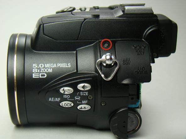 Как разобрать фотоаппарат Nikon Coolpix E5700 для замены различных компонентов (41)