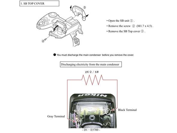 Как разобрать фотоаппарат Nikon Coolpix E5700 для замены различных компонентов (50)