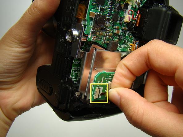 Как разобрать фотоаппарат Nikon Coolpix E5700 для замены различных компонентов