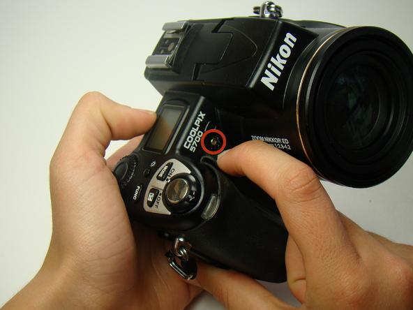 Как разобрать фотоаппарат Nikon Coolpix E5700 для замены различных компонентов (44)