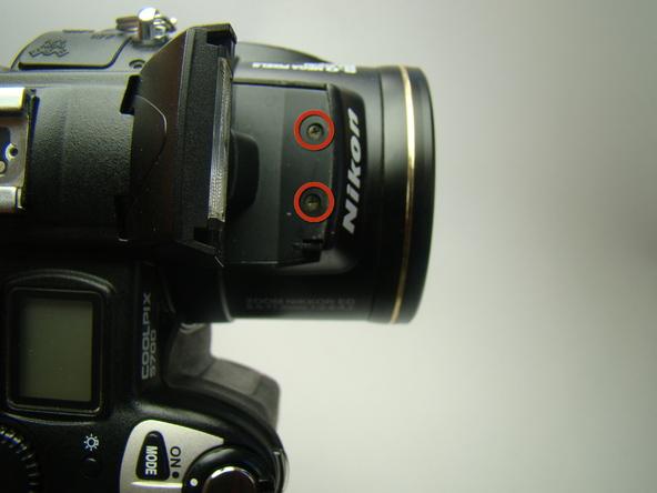 Как разобрать фотоаппарат Nikon Coolpix E5700 для замены различных компонентов (46)