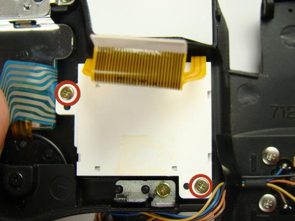 Как разобрать фотоаппарат Nikon Coolpix E5700 для замены различных компонентов (59)