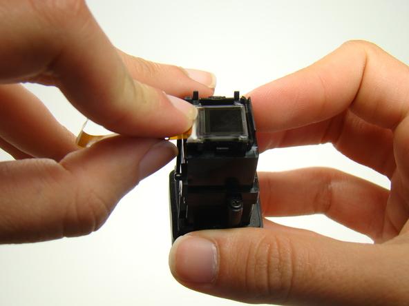 Как разобрать фотоаппарат Nikon Coolpix E5700 для замены различных компонентов (72)