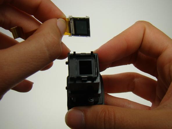 Как разобрать фотоаппарат Nikon Coolpix E5700 для замены различных компонентов (73)