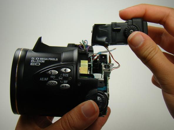 Как разобрать фотоаппарат Nikon Coolpix E5700 для замены различных компонентов (64)