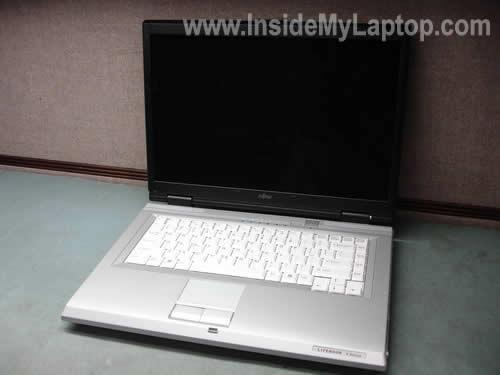 Как разобрать ноутбук Fujitsu LifeBook серии V (2)
