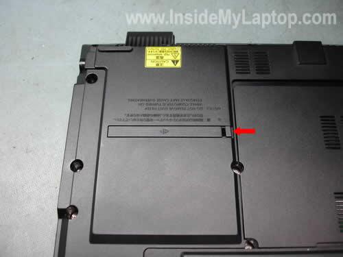 Как разобрать ноутбук Fujitsu LifeBook серии V (9)