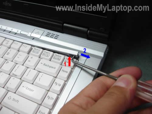 Как разобрать ноутбук Fujitsu LifeBook серии V (12)