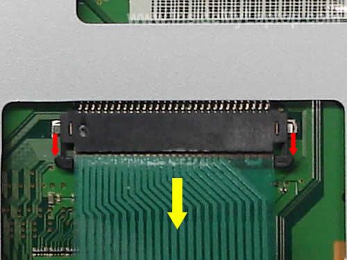 Как разобрать ноутбук Fujitsu LifeBook серии V (15)