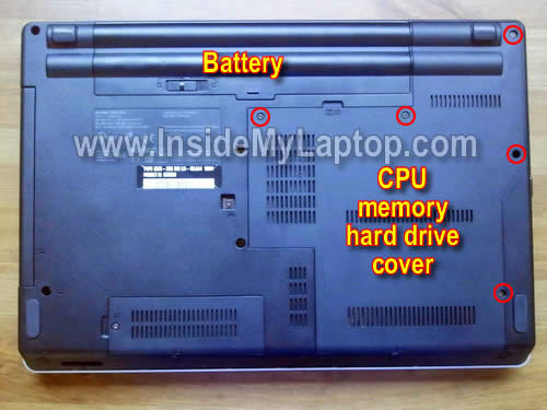 Как разобрать ноутбук Lenovo ThinkPad Edge (15)
