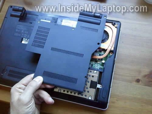 Как разобрать ноутбук Lenovo ThinkPad Edge (16)