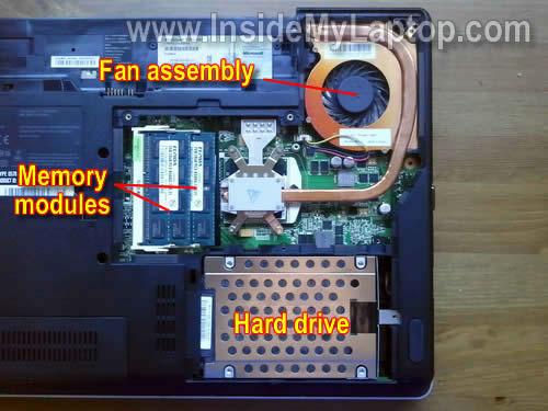 Как разобрать ноутбук Lenovo ThinkPad Edge (17)