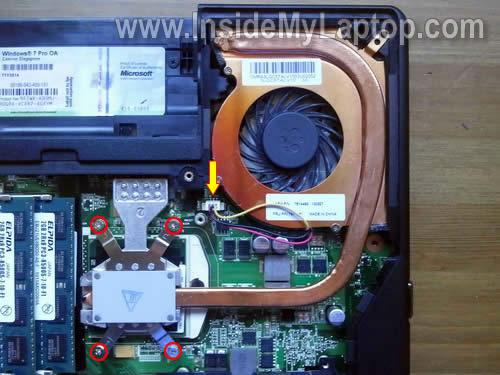 Как разобрать ноутбук Lenovo ThinkPad Edge (19)