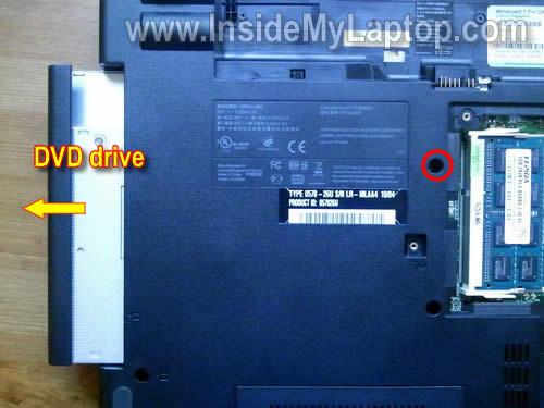 Как разобрать ноутбук Lenovo ThinkPad Edge (20)