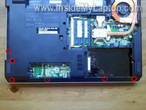 Как разобрать ноутбук Lenovo ThinkPad Edge (24)