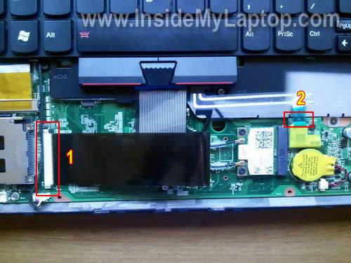 Как разобрать ноутбук Lenovo ThinkPad Edge (7)