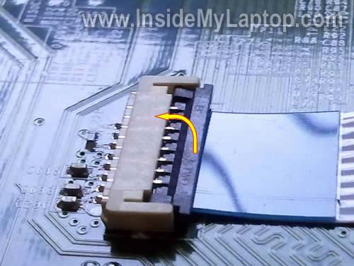 Как разобрать ноутбук Lenovo ThinkPad Edge (11)