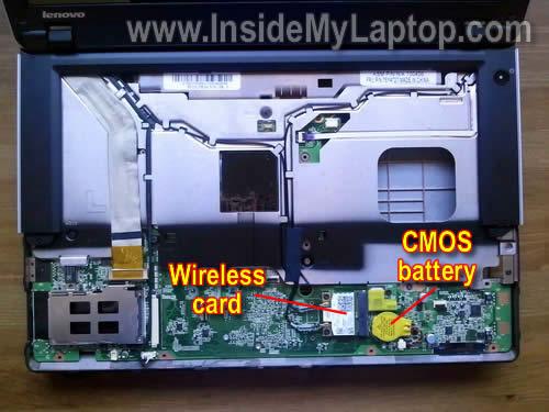 Как разобрать ноутбук Lenovo ThinkPad Edge (4)