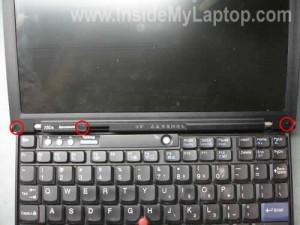 foto Как разобрать ноутбук Lenovo X60s для замены дисплея.