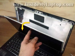 Разборка и сборка, замена экрана в ноутбуке Lenovo G560.