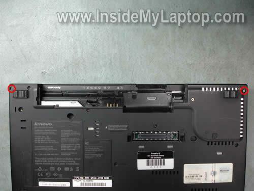 Как разобрать ноутбук Lenovo ThinkPad T61 для замены кулера (12)