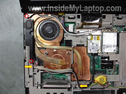 Как разобрать ноутбук Lenovo ThinkPad T61 для замены кулера (15)