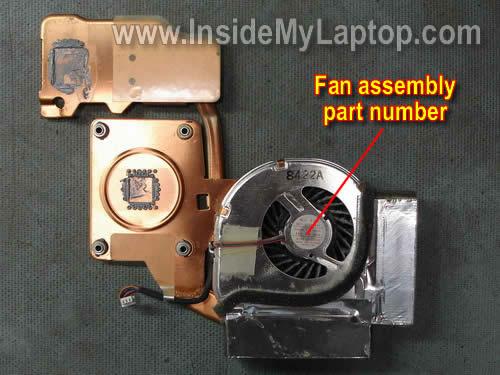 Как разобрать ноутбук Lenovo ThinkPad T61 для замены кулера (20)