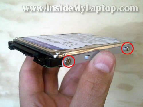 Как разобрать ноутбук Lenovo G570 для замены памяти и жёсткого диска (7)