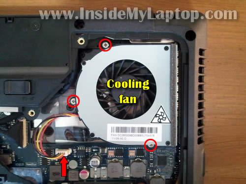 Как разобрать ноутбук Lenovo G570 для замены памяти и жёсткого диска (11)