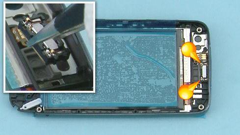 Как cобрать телефон Nokia Asha 311 / 3110 после замены деталей (2)