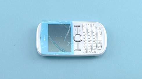 Как разобрать телефон Nokia Asha 200 / 201 (3)