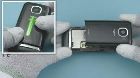 Как разобрать телефон Nokia Asha 311 / 3110 (4)