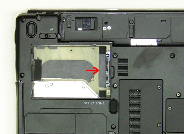 Как разобрать ноутбук Dell Inspiron 1420 / Vostro 1400: замена жёсткого диска (5)