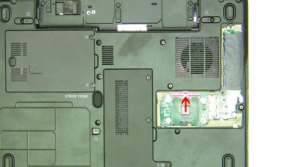 Как разобрать ноутбук Dell Inspiron 1420 / Vostro 1400: замена центрального процессора (6)