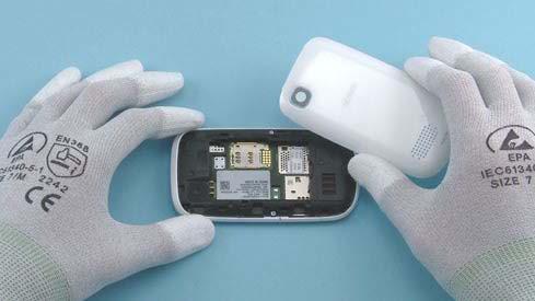 Как разобрать телефон Nokia Asha 200 / 201 (5)