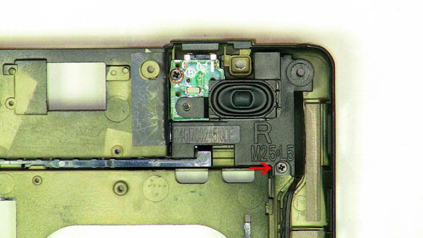 Как разобрать ноутбук Dell Inspiron 1420 / Vostro 1400: замена динамиков (7)