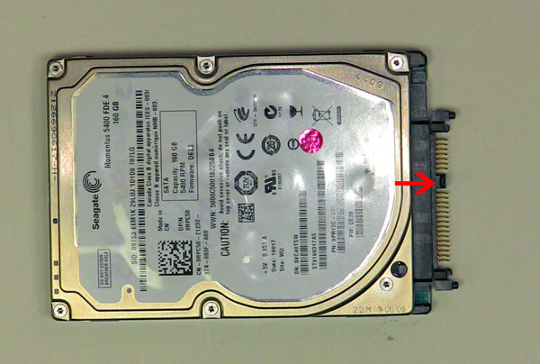 Как разобрать ноутбук Dell Inspiron 1420 / Vostro 1400: замена жёсткого диска (8)