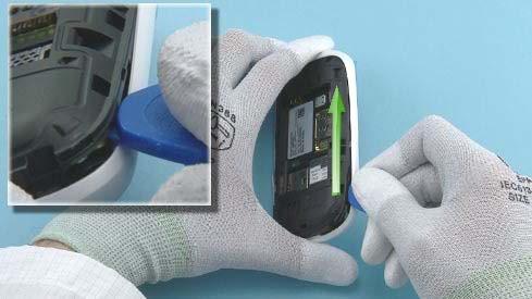 Как разобрать телефон Nokia Asha 200 / 201 (8)