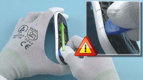 Как разобрать телефон Nokia Asha 200 / 201 (9)