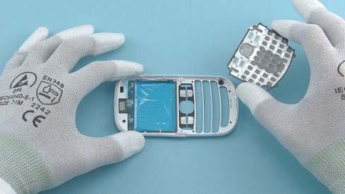 Как разобрать телефон Nokia Asha 200 / 201 (12)