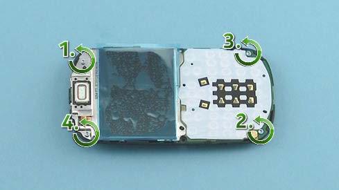 Как разобрать телефон Nokia Asha 200 / 201 (13)