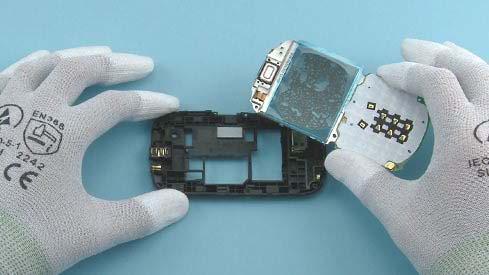 Как разобрать телефон Nokia Asha 200 / 201 (15)