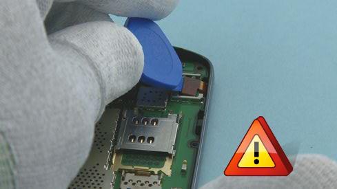Как разобрать телефон Nokia Asha 311 / 3110 (21)