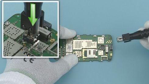 Как разобрать телефон Nokia Asha 311 / 3110 (25)