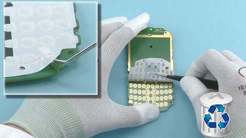 Как разобрать телефон Nokia Asha 200 / 201 (27)